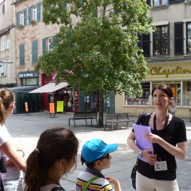 Amandine Branchet, guide-conférencière pour l'office de tourisme
