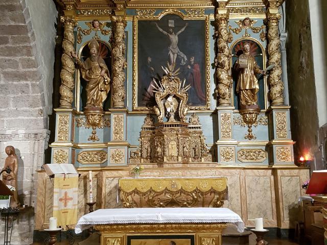 Retable de Chasse de l'église du Monastère