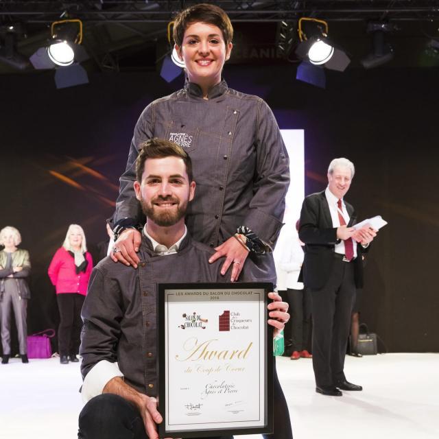 Award du Chocolat Coup de Coeur pour Agnès & Pierre