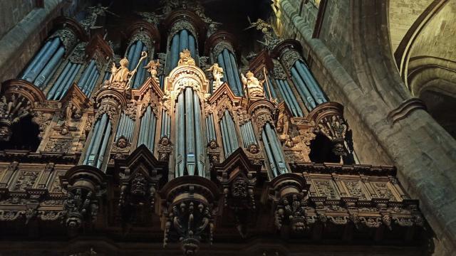 Buffet d'orgue de la cathédrale de Rodez
