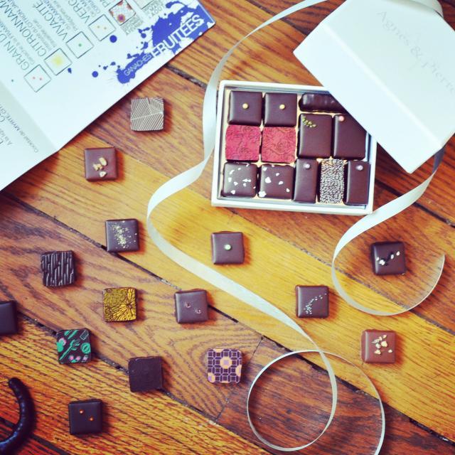 Coffret de chocolats Agnès & Pierre