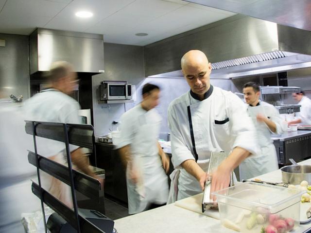 Le Chef Chaillou du Café Bras