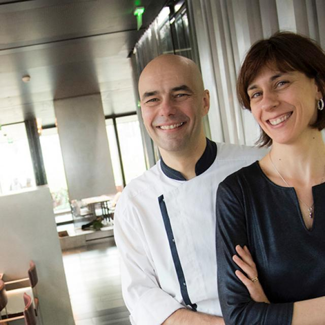Pascale et Christophe Chaillou du Café Bras