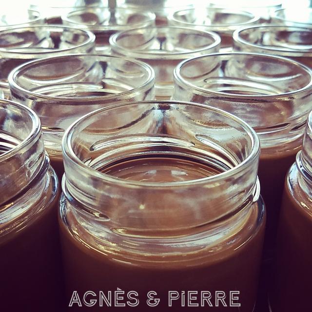Pâte à tartiner de chez Agnès & Pierre