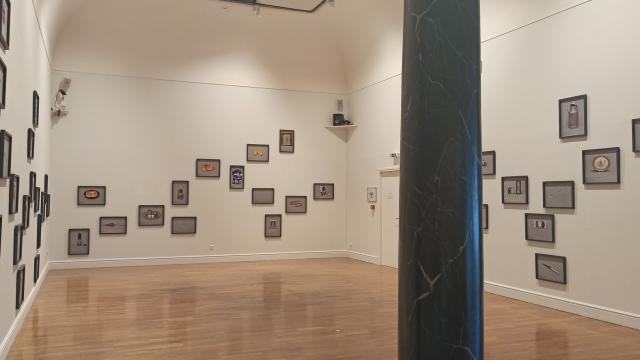 Salle de l'exposition Traversées