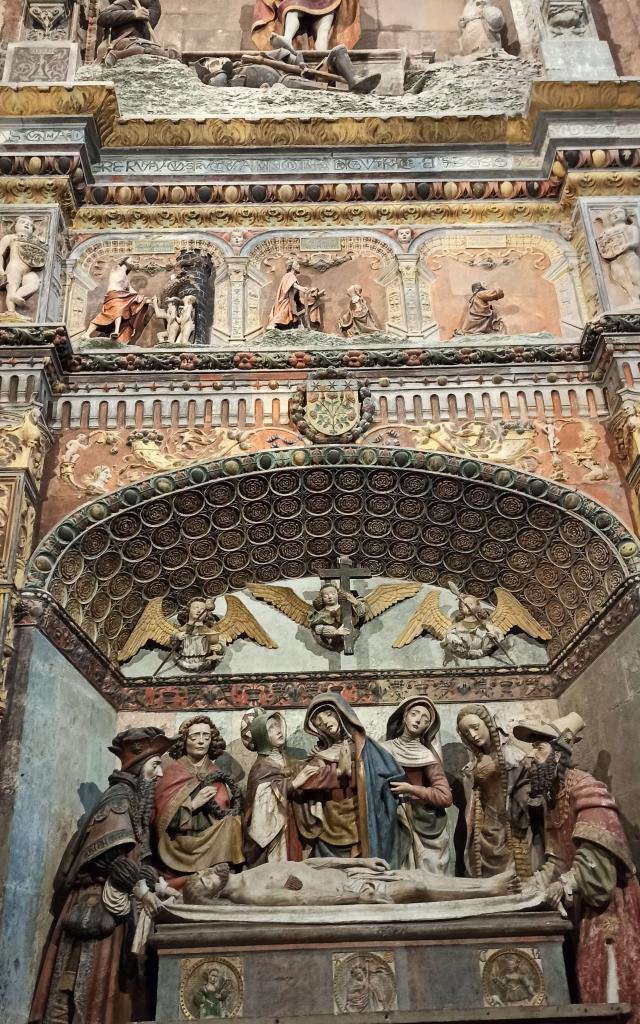 Retable monumental de la chapelle du Saint-Sépulcre