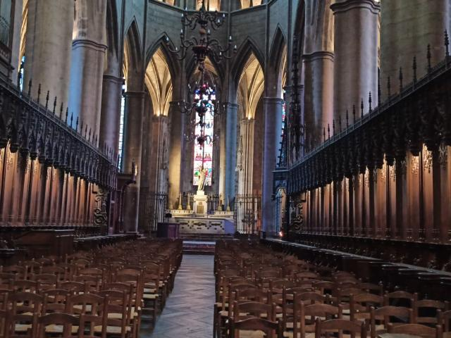 Autel de la cathédrale de Rodez