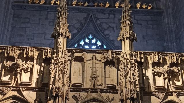 Jubé de la cathédrale