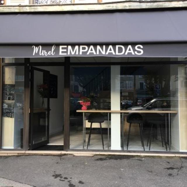 Devanture de chez Mirel Empanadas