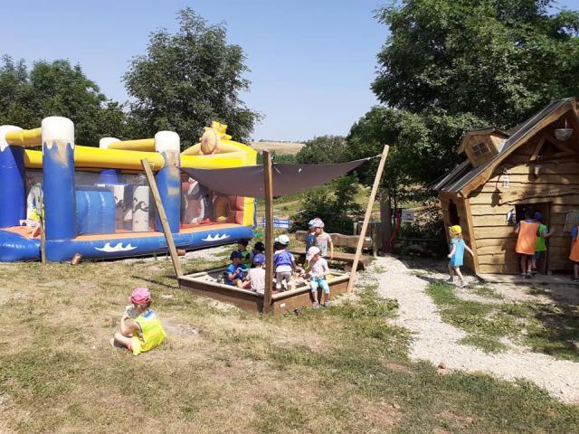 Jeux pour les plus petits au Parc Aventure