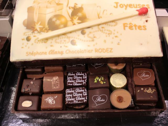 Coffret de chocolats Alary