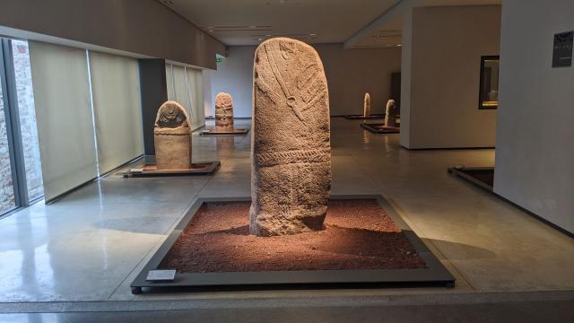 Etage des statues-menhirs