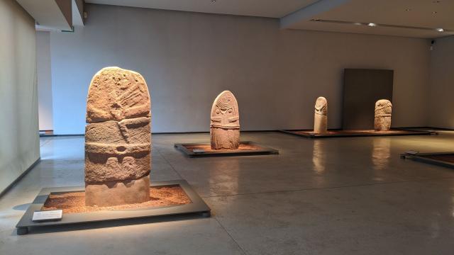 Les statues-menhirs du musée Fenaille