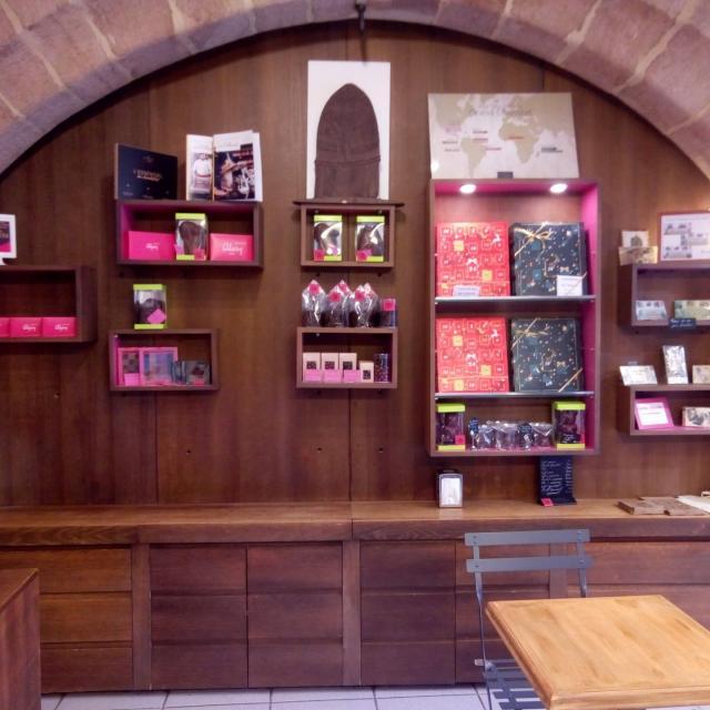 Variété de chocolats chez Stéphane Alary