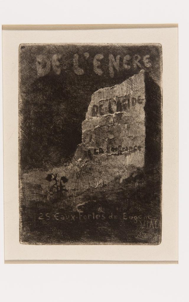 Eugène Viala, Frontispice De L'encre, De L'acide, De La Souffrance