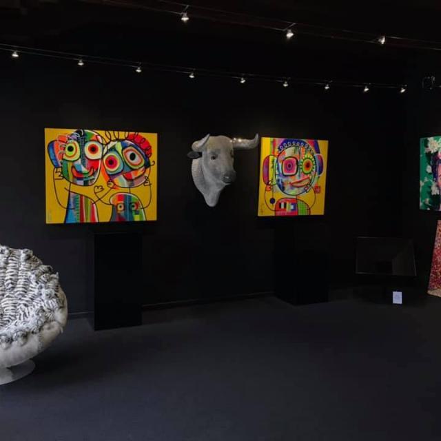 Exposition à la galerie Annotiau