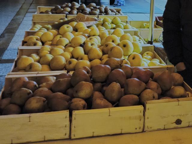 Fruits de Yannick au marché