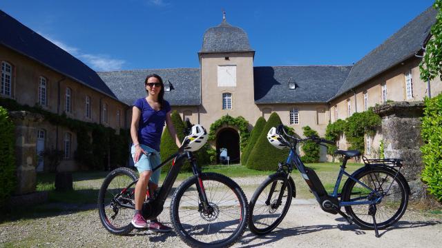 Aveyron à Vélo aux anciens Haras