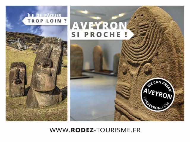 Île de Pâques si loin, Aveyron si proche