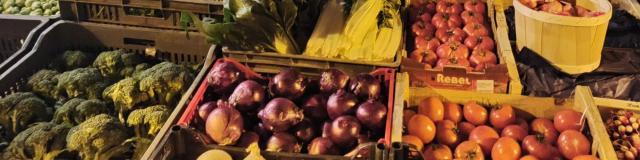 Légumes du marché de Rodez