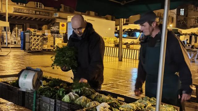 Salades du marché pour le Café Bras