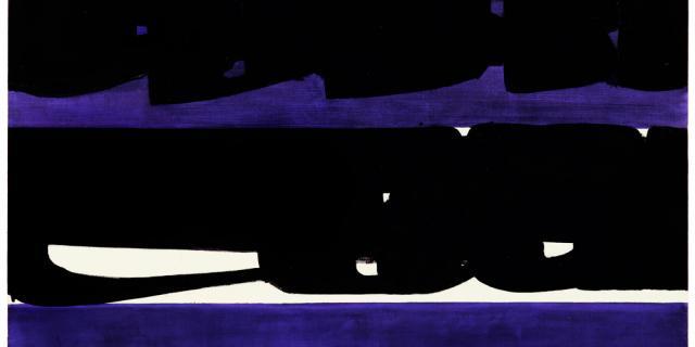 Pierre Soulages, Peinture 159x202 Cm, 28 Nov 1971, Huile Sur Toile, Collection Particulière
