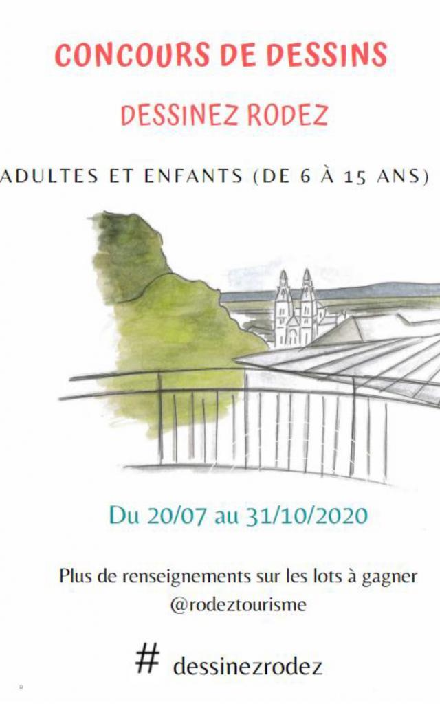 Affiche Concours Dessins - octobre