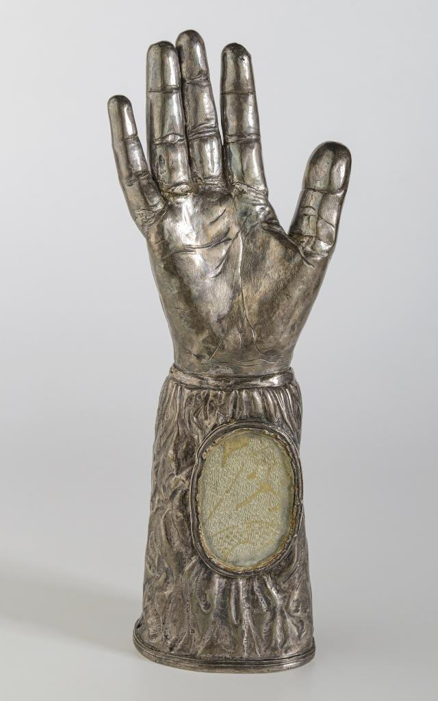 Bras Reliquaire De Sainte Radegonde , Commune De Sainte Radegonde (c) Musée Fenaille, Rodez Thierry Estadieu