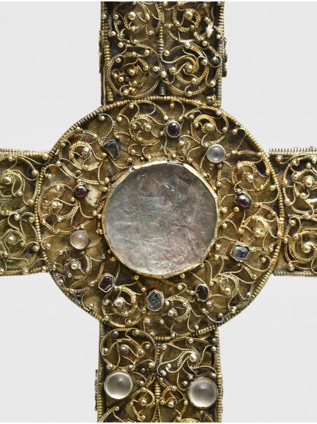 Croix De Procession (détail), Commune De Najac (c) Drac Occitanie Jean François Peiré