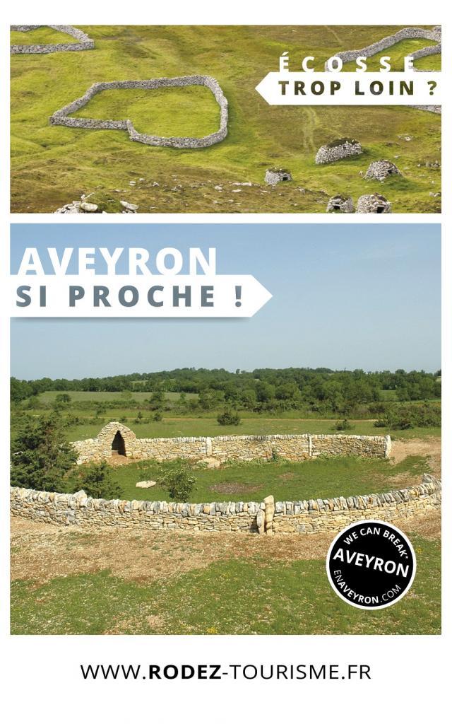 Aveyron si proche, Ecosse trop loin