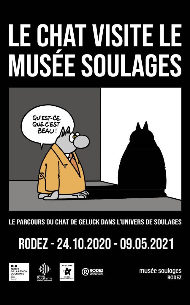 Exposition temporaire Pierre Soulages, Le Chat, etc