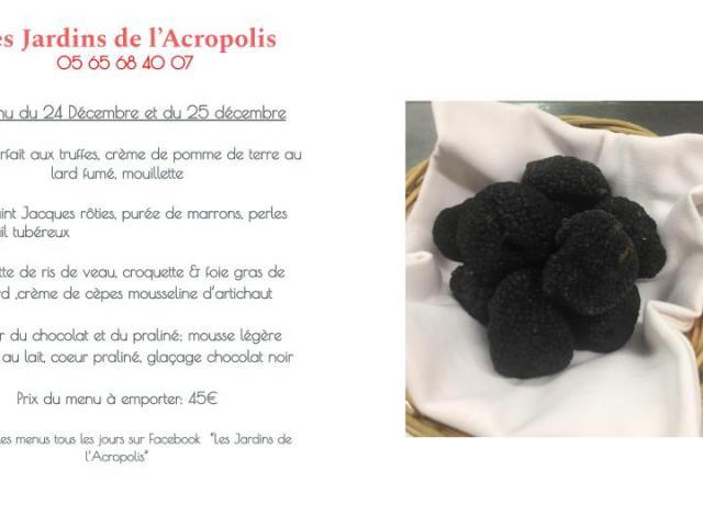 Restaurant Les Jardins d'Acropolis
