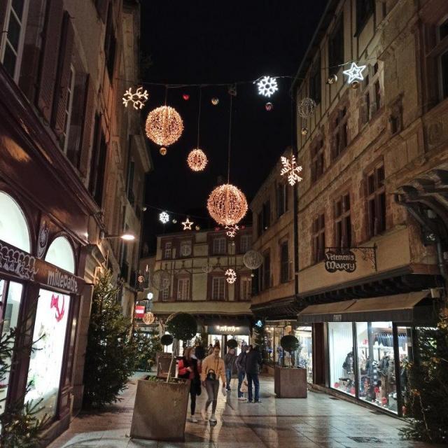 Illuminations de la rue du Bal