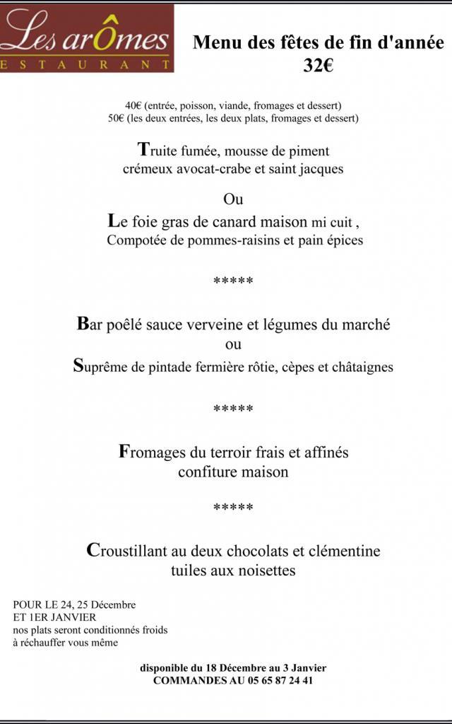 Restaurant Les Aromes