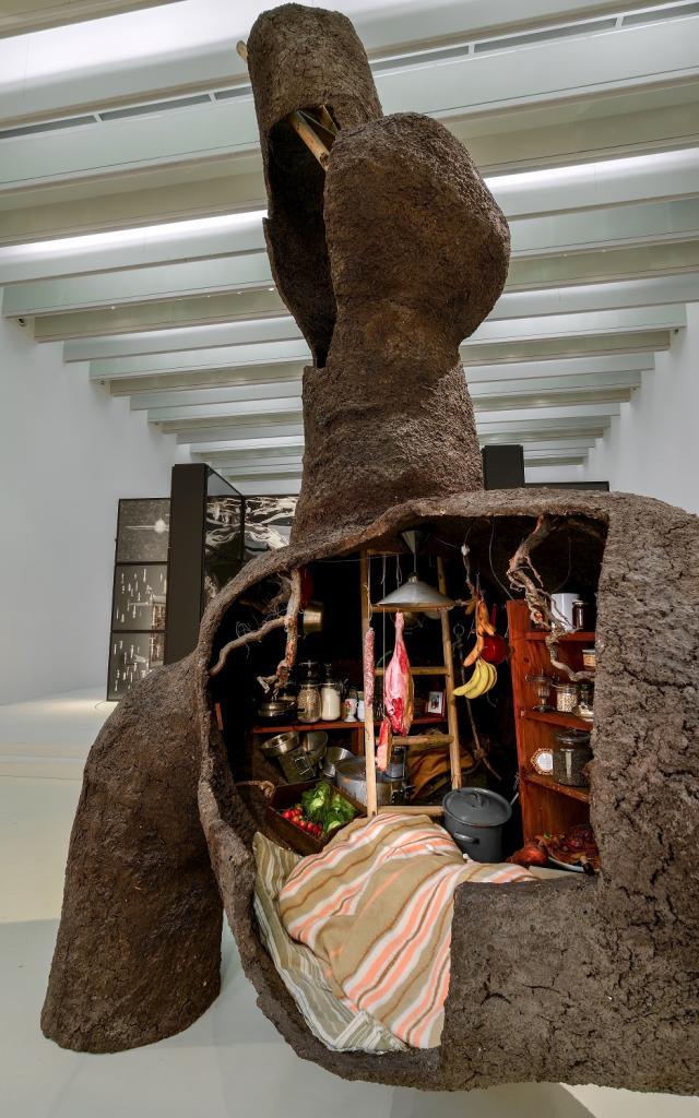 Exposition Gilles Barbier- Machines de Production au musée Soulages Rodez 2021