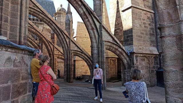 Visite guidée des planètes de la cathédrale de Rodez