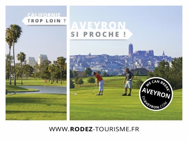 Golf de Rodez Agglomération - Aveyron
