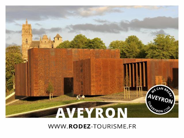 Le musée Soulages à Rodez - Aveyron