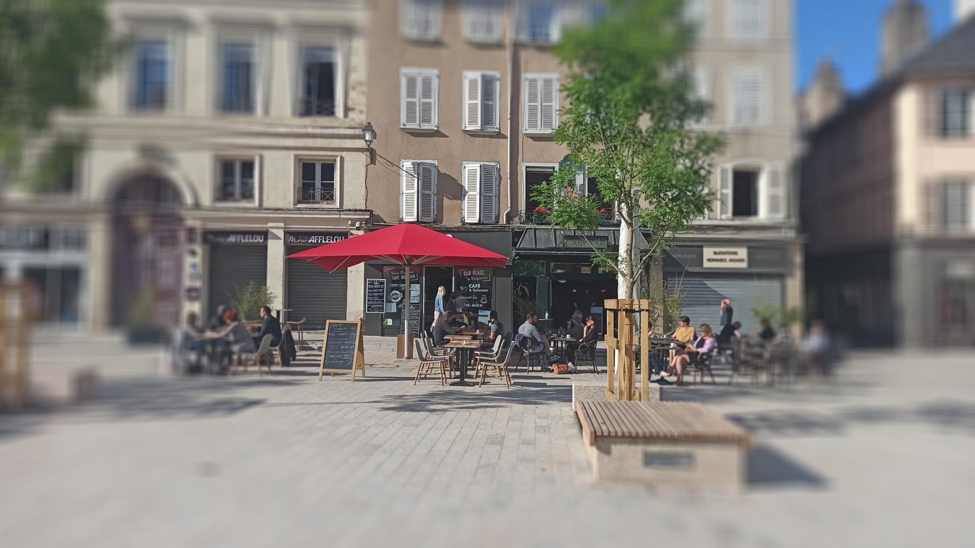 Terrasse Café Pl Cité