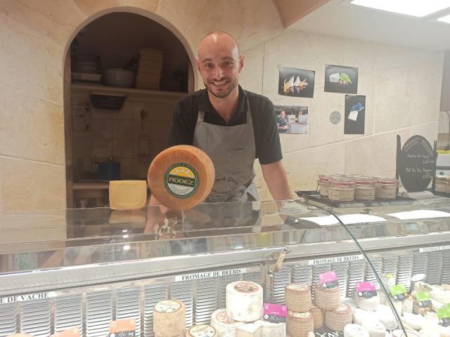 Mathieu Douls, fromager-affineur