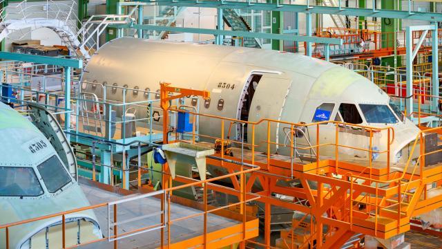 Visite ateliers Airbus Saint-Nazaire