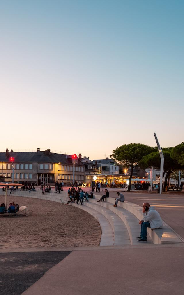 Place du commando à Saint-Nazaire
