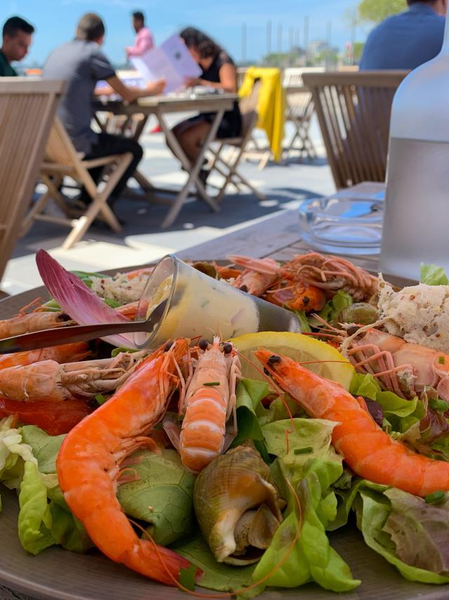 Restaurant sur le front de Saint-Nazaire