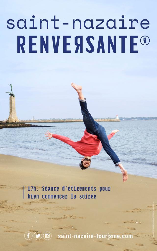 Visuel Campagne Destination Saint Nazaire Renversante Plage