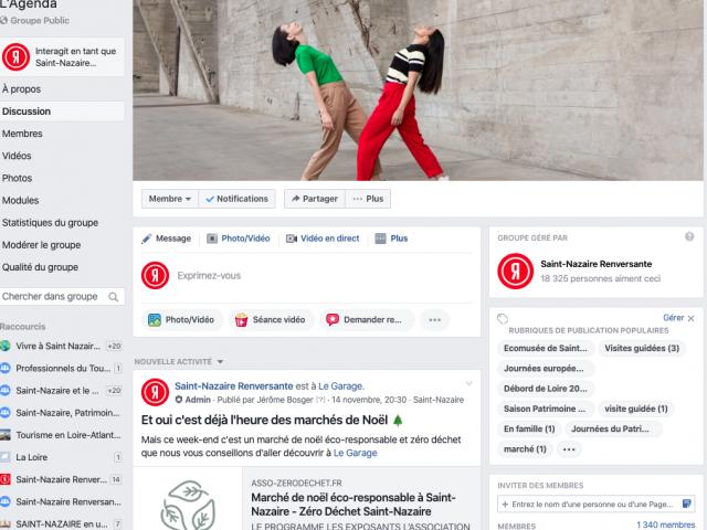 Groupe Facebook Saint Nazaire Renvesante