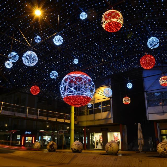 Illumination de Noël au paquebot