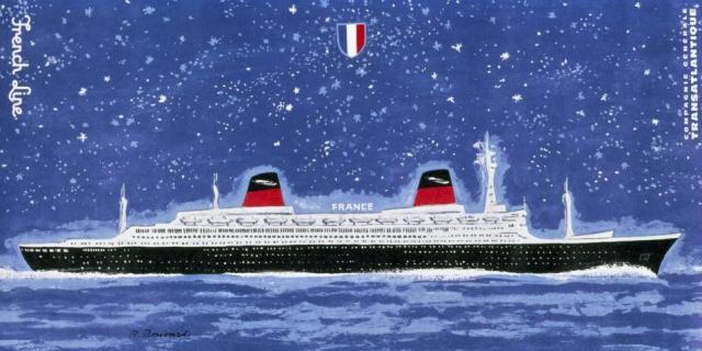 Illustrateur René Bouvard. Collection Saint-Nazaire Agglomération Tourisme-Écomusée. Cliché Jean-Claude Lemée