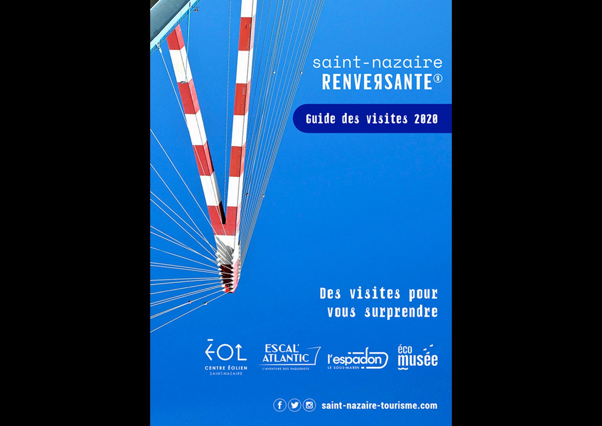 Couverture Brochure Visites Saint Nazaire 2020