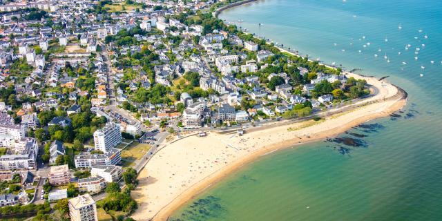 Saint-Nazaire - Villès - vue aérienne