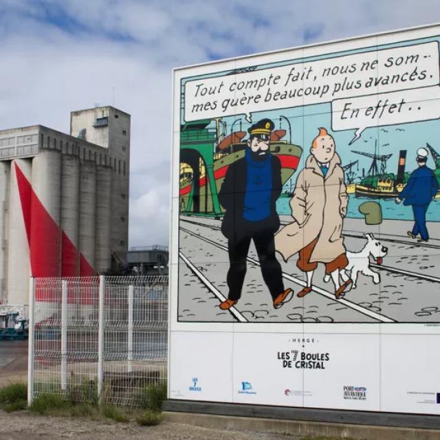 Tintin A Saint Nazaire Pont Du Pertuis